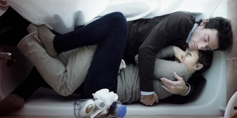 UPSTREAM COLOR, from top: Shane Carruth, Amy Seimetz, 2013.