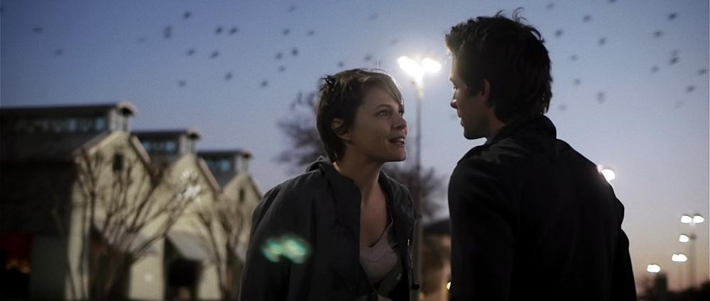 UPSTREAM COLOR, from left: Amy Seimetz, Shane Carruth, 2013.