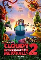 Cloudy With a Chance of Meatballs 2 Advance Poster Art