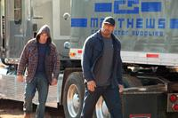 SNITCH, from left: Jon Bernthal, Dwayne Johnson, 2013. ph: Steve Dietl/©Summit Entertainment