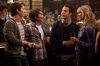 21 AND OVER, from left: Miles Teller, Justin Chon, Skylar Astin, Sarah Wright, 2013. ph: John Johnson/©Relativity Media