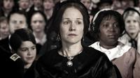 SAVING LINCOLN, from left: Joshua Rush, Penelope Ann Miller, as Mary Todd Lincoln, Saidah Arrika Ekulona, 2012.