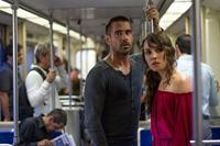 DEAD MAN DOWN, from left: Colin Farrell, Noomi Rapace, 2013. ph: John Baer/©FilmDistrict