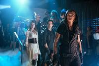 THE MORTAL INSTRUMENTS: CITY OF BONES, from left: Jemima West, Kevin Zegers, Jamie Campbell Bower, 2013. ph: Rafy/©Screen Gems