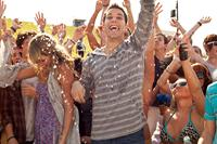 21 AND OVER, foreground from left: Sarah Wright, Skylar Astin, 2013. ph: John Johnson/©Relativity Media