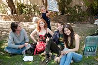 FUN SIZE, from left: Thomas McDonell, Jane Levy, Jackson Nicoll, Thomas Mann, Victoria Justice, 2012. ph: Jamie Trueblood/©Paramount