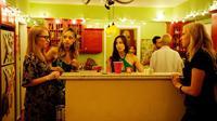 THE KITCHEN, from left: Pepper Binkley, Amber Stevens, Catherine Reitman, Laura Prepon, 2012. ©Monterey Media