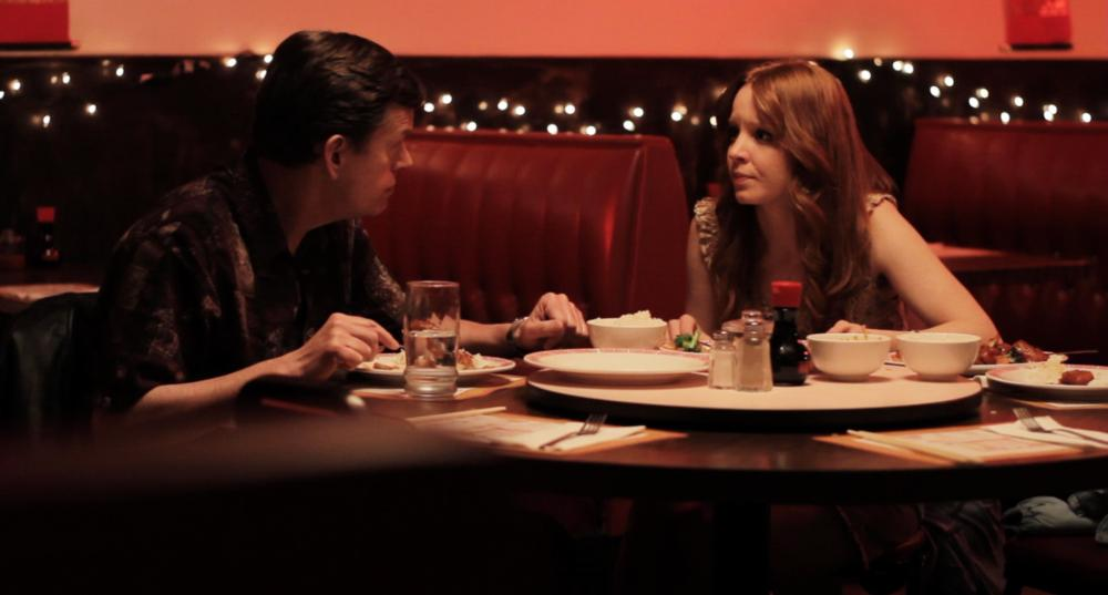 ABOUT SUNNY, from left: Dylan Baker, Lauren Ambrose, 2011./©Oscilloscope Pictures
