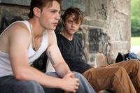THE PLACE BEYOND THE PINES, from left: Emory Cohen, Dane DeHaan, 2012. ph: Atsushi Nishijima/©Focus Features