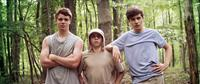 THE KINGS OF SUMMER, (aka TOY'S HOUSE), l-r: Gabriel Basso, Moises Arias, Nick Robinson, 2013, ©CBS Films