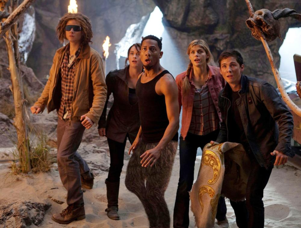 PERCY JACKSON: SEA OF MONSTERS, from left: Jake Abel, Alexandra Daddario, Brandon T. Jackson, Leven Rambin, Logan Lerman, 2013. ph: Murray Close/