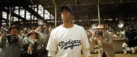 42, (aka FORTY-TWO), Chadwick Boseman as Jackie Robinson, 2013./©Warner Bros. Pictures