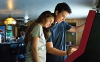 THE SPECTACULAR NOW, from left: Shailene Woodley, Miles Teller, 2013. ©A24