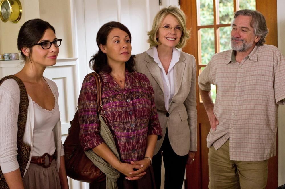 THE BIG WEDDING, from left: Ana Ayora, Patricia Rae, Diane Keaton, Robert De Niro, 2012. ph: Barry Wetcher/©Lionsgate