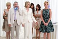 THE BIG WEDDING, from left: Christine Ebersole, Robert De Niro, Diane Keaton, Ana Ayora, Patricia Rae, Katherine Heigl, 2012. ph: Barry Wetcher/©Lionsgate