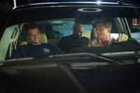 FIRE WITH FIRE, from left: Josh Duhamel, James Lesure, Eric Winter, 2012. ph: Steve Dietl/©Lionsgate