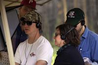 PRINCE AVALANCHE, director David Gordon Green, on set, 2013. ©Magnolia Pictures