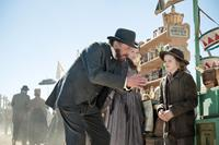 THE LONE RANGER, from left: Tom Wilkinson, Ruth Wilson, Bryant Prince, 2013. ph: Peter Mountain/©Walt Disney Pictures