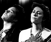 SING ME THE SONGS THAT SAY I LOVE YOU: A CONCERT FOR KATE MCGARRIGLE, from left: Rufus Wainwright, Martha Wainwright, 2012.