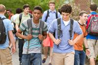 GROWN UPS 2, from left: Nadji Jeter, Jake Goldberg, 2013. ph: Tracy Bennett/©Columbia Pictures