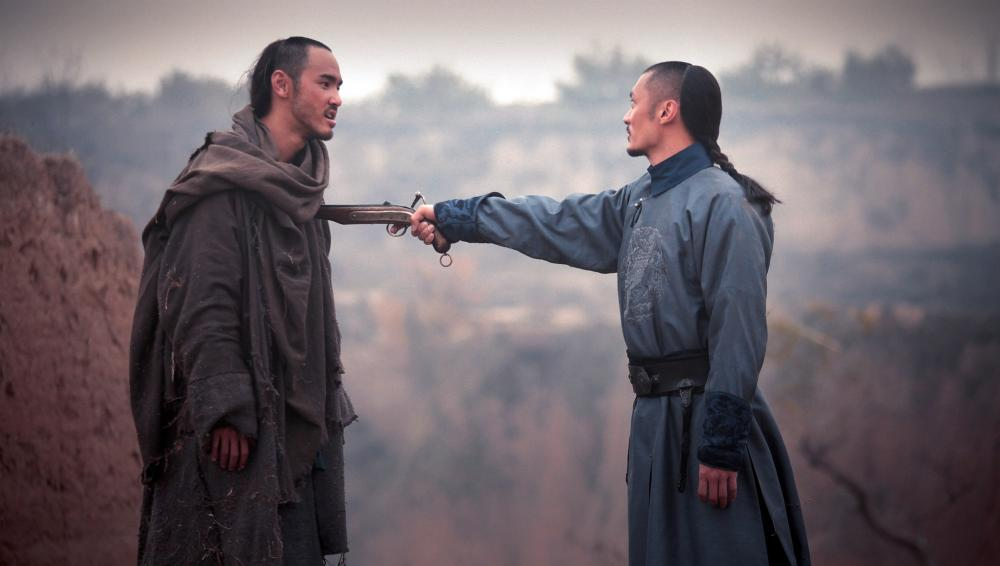 THE GUILLOTINES, (aka XUE DI ZI), from left: Ethan Juan, Shawn Yue, 2012. ©Well Go