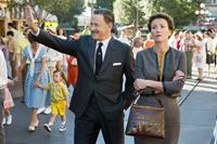 SAVING MR. BANKS, from left: Tom Hanks, as Walt Disney, Emma Thompson, 2013. ©Walt Disney Studios Motion Pictures