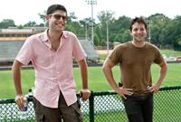 THE SPECTACULAR NOW, screenwriters Michael H. Weber, Scott Neustadter, on set, 2013. ©A24