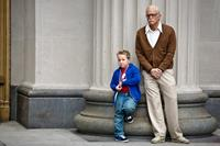 JACKASS PRESENTS: BAD GRANDPA, l-r: Jackson Nicoll, Johnny Knoxville, 2013, ph: Sean Cliver/©Paramount Pictures