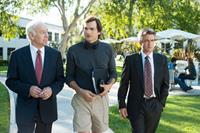 JOBS, from left: Robert Pine, Ashton Kutcher as Steve Jobs, Dermot Mulroney, 2013. ph: Glen Wilson/©Open Road Films