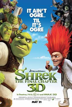 Shrek Forever After - A Family Favourites Presentation