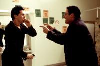 DEAD MAN ON CAMPUS, Tom Everett Scott, Mark Paul Gosselaar, 1998, bathroom
