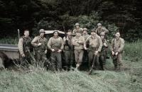 SAVING PRIVATE RYAN, Pepper, Hanks, Sizemore, Burns, Dye, Diesel, Goldberg, Ribisi, Davies, 1998
