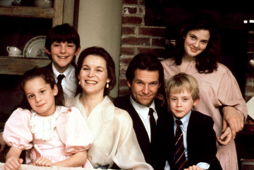 SEE YOU IN THE MORNING, Heather Lilly, Lukas Haas, Alice Krige, Jeff Bridges, Macaulay Culkin, Drew Barrymore, 1989