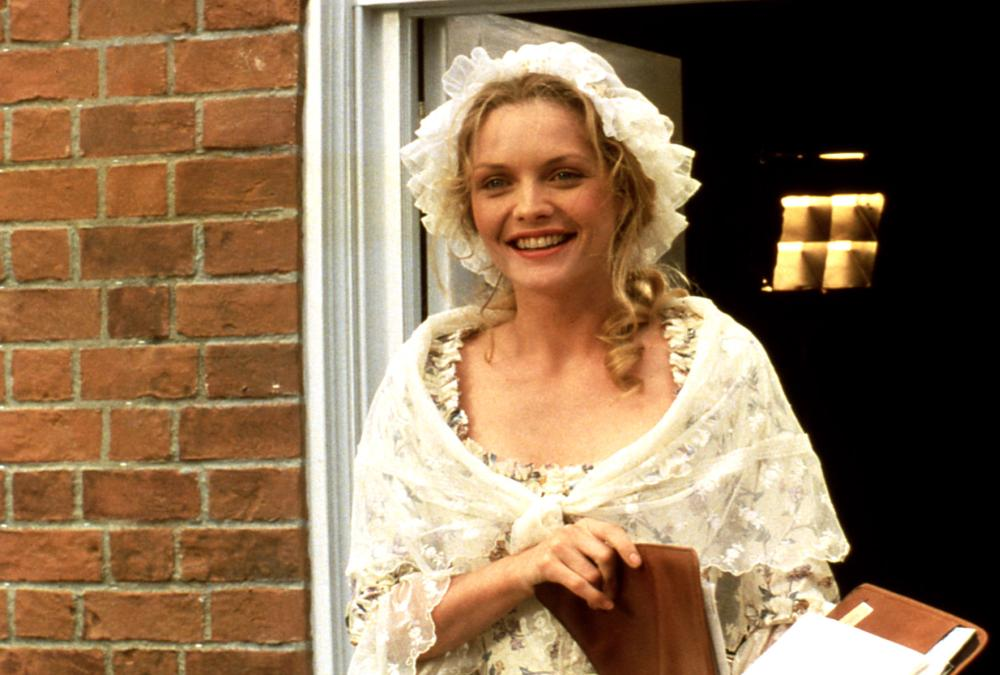 SWEET LIBERTY, Michelle Pfeiffer, 1986