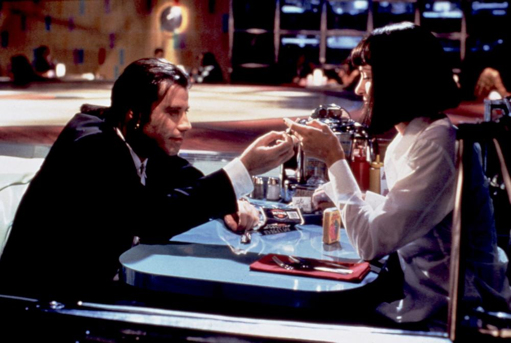 PULP FICTION, John Travolta, Uma Thurman, 1994