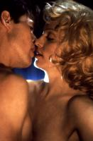 BODY OF EVIDENCE, Willem Dafoe, Madonna, 1993, kiss