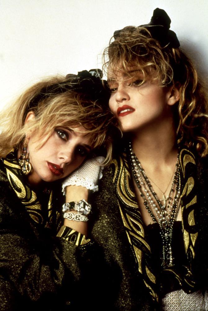 DESPERATELY SEEKING SUSAN, Rosanna Arquette, Madonna, 1985