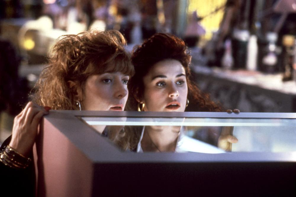 MORTAL THOUGHTS, Glenne Headly, Demi Moore, 1991