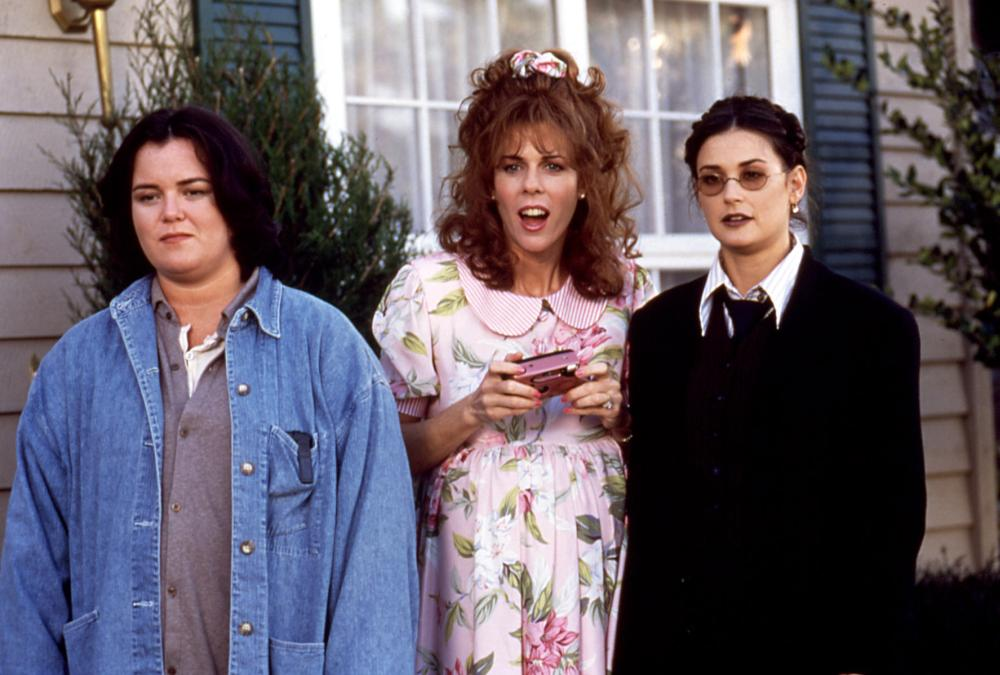 NOW AND THEN, Rosie O'Donnell, Rita Wilson, Demi Moore, 1995, radio