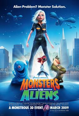Monsters vs. Aliens - A Family Favourites Presentation