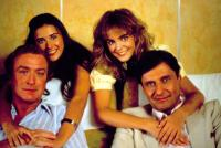BLAME IT ON RIO, Michael Caine, Demi Moore, Joe Bologna, Michelle Johnson, 1984