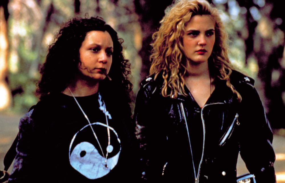 POISON IVY, Sara Gilbert, Drew Barrymore, 1992