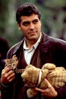 ONE FINE DAY, George Clooney, 1996, kitten