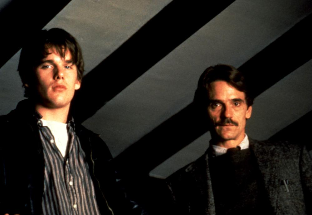 WATERLAND, Ethan Hawke, Jeremy Irons, 1992. ©Fine Line Features