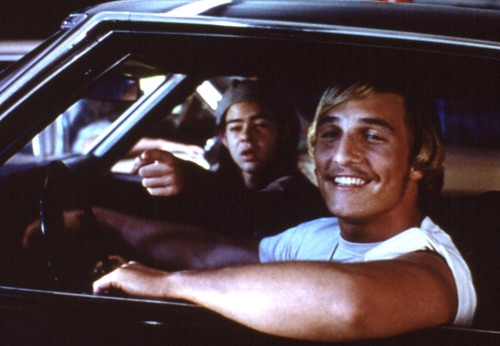 DAZED AND CONFUSED, Rory Cochrane, Matthew McConaughey, 1993