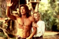 GEORGE OF THE JUNGLE, Brendan Fraser, Leslie Mann, 1997. (c) Buena Vista Pictures.