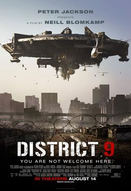 District 9 - The Event Screen