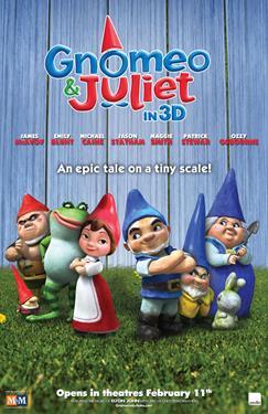 Gnomeo & Juliet - A Family Favourites Presentation