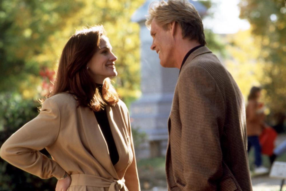 I LOVE TROUBLE, Julia Roberts, Nick Nolte, 1994. © Buena Vista Pictures