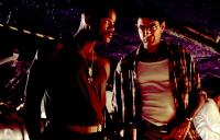 "INDEPENDENCE DAY, Will Smith, Jeff Goldblum, 1996, dog tags"" TM and Copyright (c) 20th Century Fox Film Corp. All rights reserved."""
